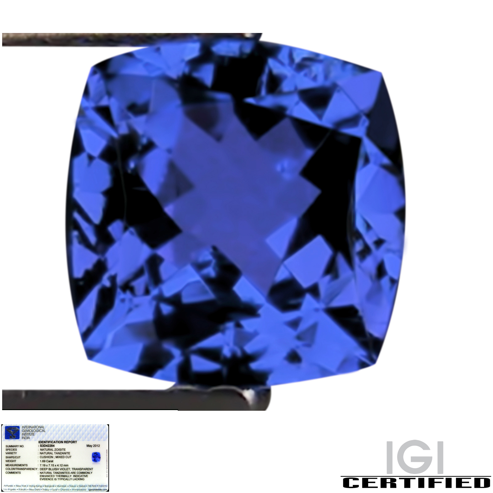 of we investment com chart pin gemstones gemstone tanzanite are calibrated size speciality grade a toptanzanite stone have