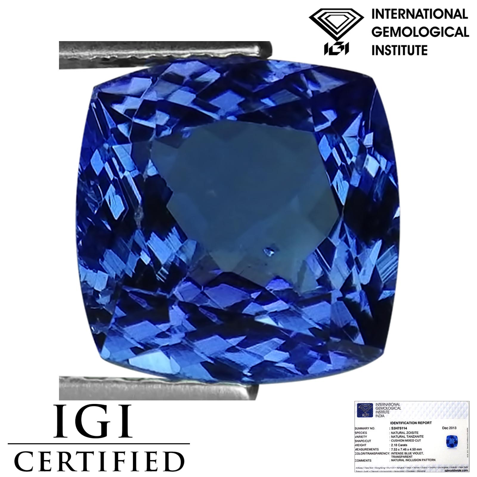 watch tanzanite certified vvs grade ring natural investment yellow white diamond estate jewelry gold