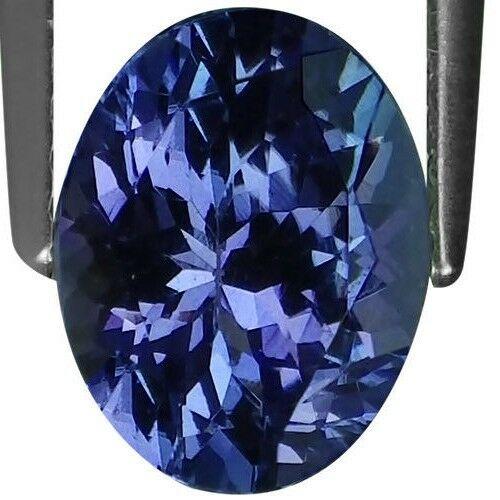 Rare Violet Blue Tanzanite. 0.52 Carat 4.9x4.9x3.1 MM Top Grade Quality Natural Faceted Blue Tanzanite Round Cut Shape